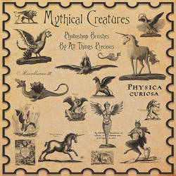 Mythical Creatures Brushes