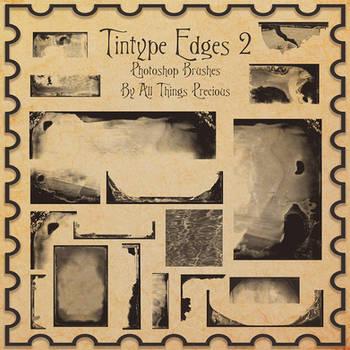 Tintype Edges Photoshop Brushes SET 2