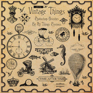 Vintage Things Brushes