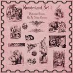 Alice In Wonderland Photoshop Brushes