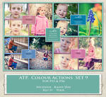 ATP. Color Actions SET 9