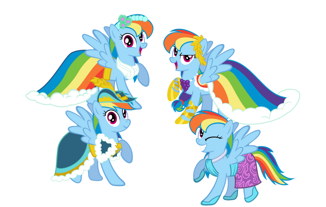 Rainbow Dash Always Dresses In Style By Mattbas On Deviantart