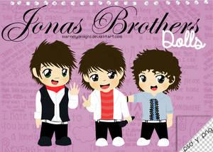 +Dolls l Jonas Brothers {.psd y .png}