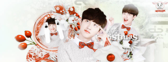 [Cover facebook|Share PSD] Merry Christmas by RinFoxie
