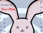 Dress-Up Usa-Chan Game