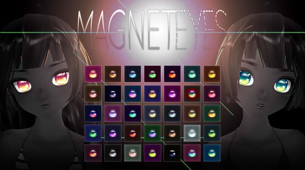 [MMD] magnetEYES + DL by HiLoMMD