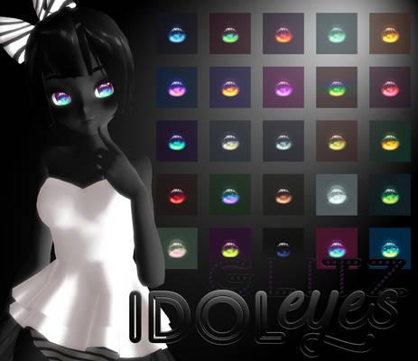 [MMD] idolEYES glitz + DL