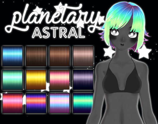 [MMD] planetary ASTRAL + DL