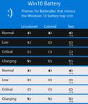 Win10 Battery - Theme for BatteryBar Pro