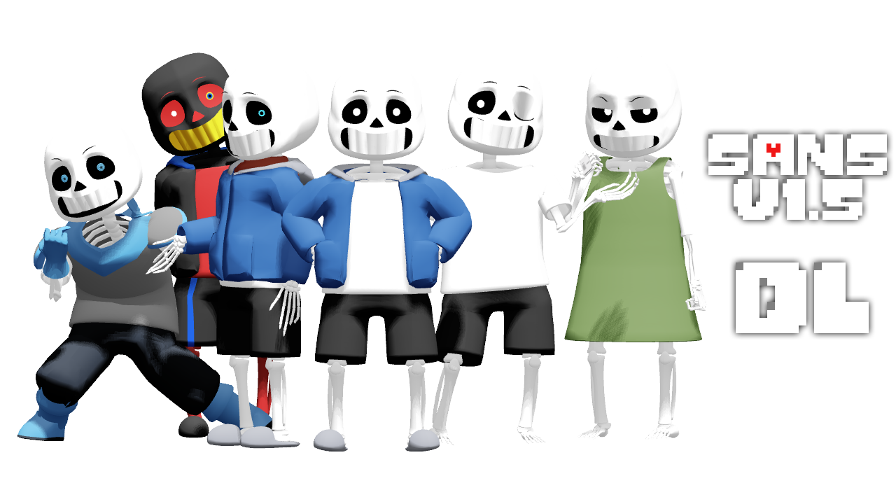 How to install sans undertale skin download sans undertale skin -  Magicalpouchofmagic Mmd Undertale Sans V1 5 By Magicalpouchofmagic