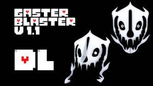 MMD Undertale - Gaster Blaster v1.1 by MagicalPouchOfMagic