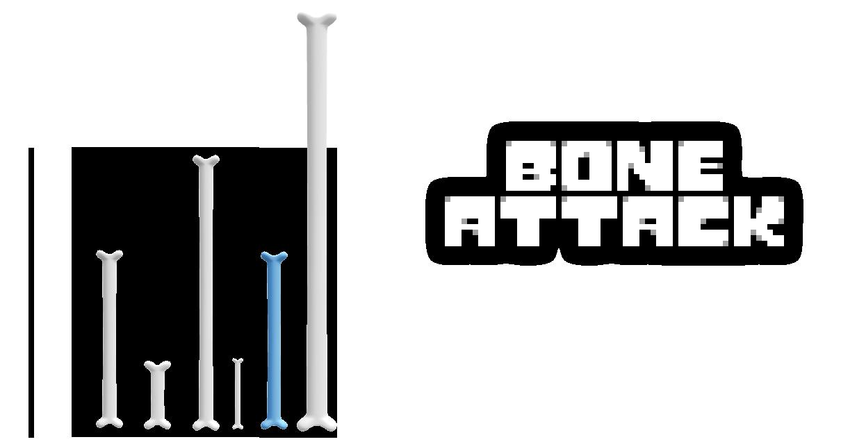 MMD Undertale - Bone attack by MagicalPouchOfMagic