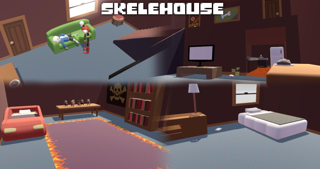 MMD Undertale - Skelehouse v1.0 by MagicalPouchOfMagic
