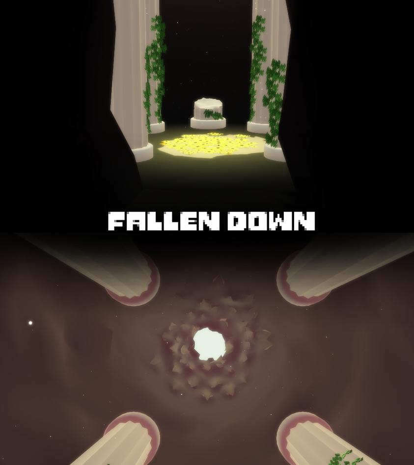 MMD Undertale - Fallen Down Stage v1.0 by MagicalPouchOfMagic