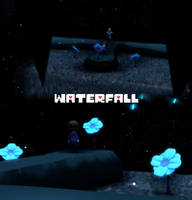 MMD Undertale - Waterfall v1.0 by MagicalPouchOfMagic