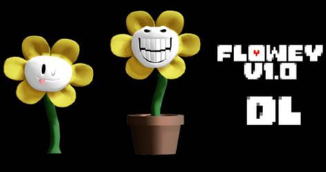 MMD Undertale - Flowey v1.0