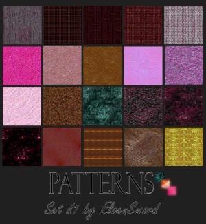 Pattern set d1 by ElvenSword