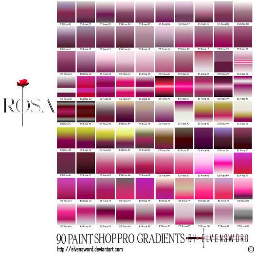 Rosa Psp Gradients by ElvenSword