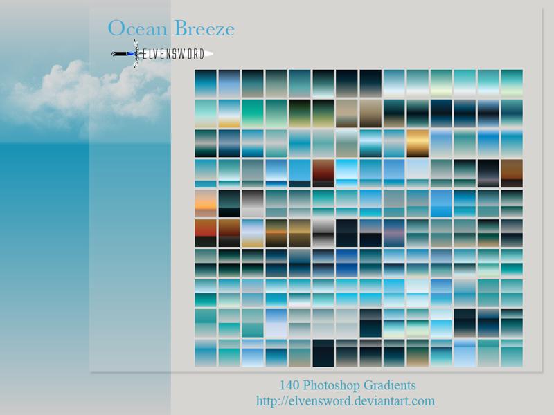 Ocean Breeze Ps Gradients by ElvenSword