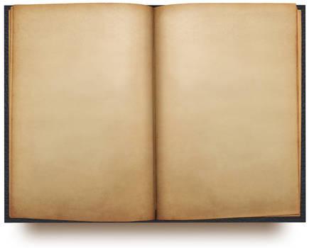 open book template PSD