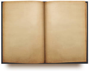 open book template PSD