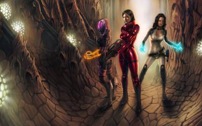 Mass Effect 2 _ Jericho by WillhelmKranz