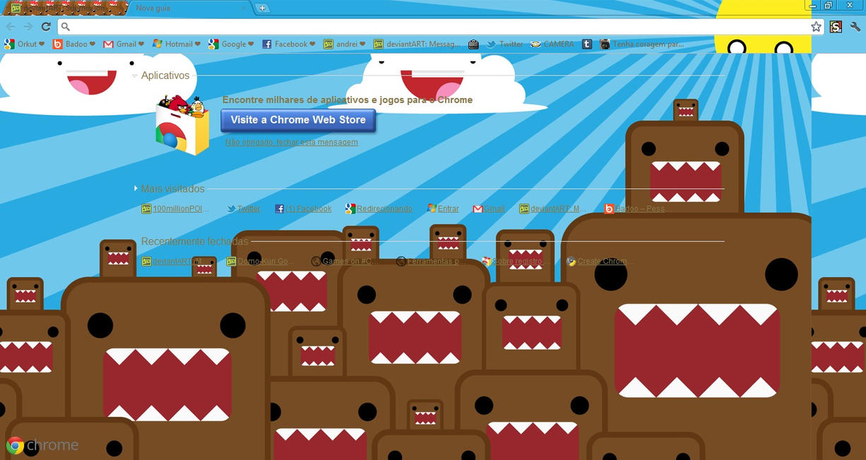 Domo Cursors For Your Tumblr, Blog,.