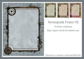 271 Steampunk Frame 02