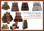 275 Stacked Luggage