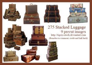 275 Stacked Luggage