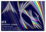 473 rainbow stripe