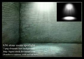 636 Stone Room Spotlight by Tigers-stock