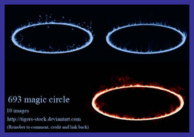 693 Magic Circle by Tigers-stock