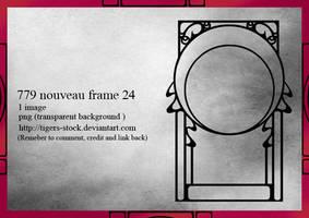 779 Nouveua Frame 24