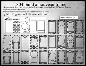 804 Build A Nouveau Frame