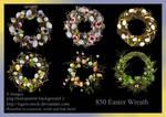 850 Easter Wreath