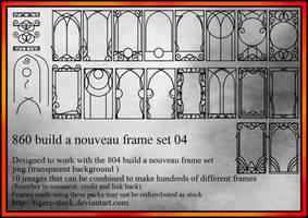 860 Build A Nouveau Frame 04 by Tigers-stock