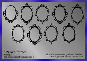 879 Ova Frames by Tigers-stock