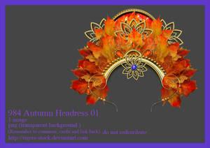 984 Autumn Headress 01