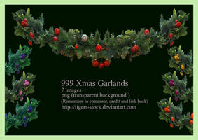 999 Xmas Garlands by Tigers-stock