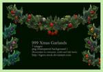 999 Xmas Garlands