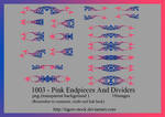 1003 - Pink Endpieces And Dividers