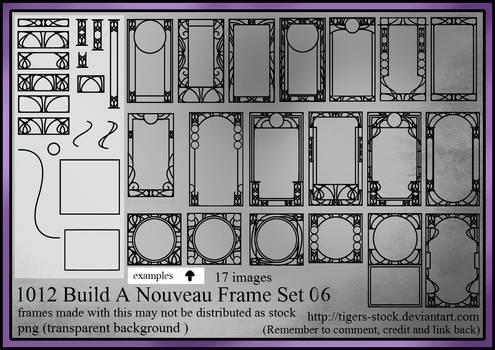 1012 -  Build A Nouveau Frame Set 06