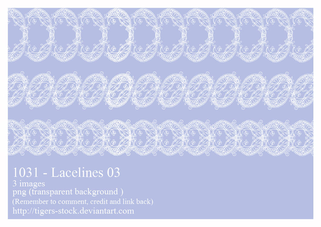 1031 Lacelines 03 by Tigers-stock