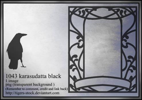 1043 Karasudatta Black