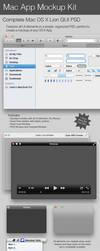 Mac App Mockup Kit by Friggog