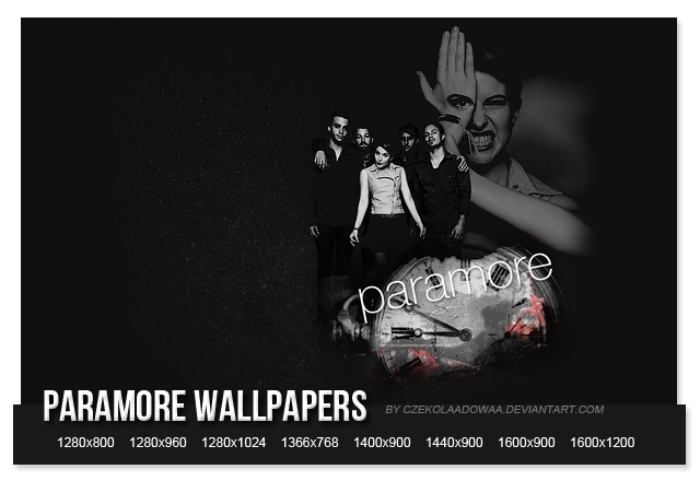 paramore wallpapers. Paramore wallpapers by