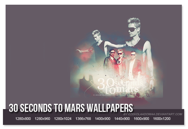 30 seconds to mars wallpapers. 30 Seconds To Mars wallpapers