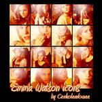 Emma Watson 16 icons by Czekolaadowaa