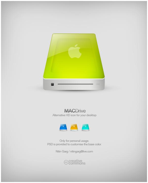 MacDrive by freakyframes